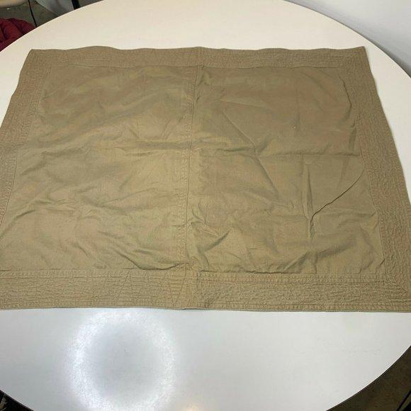 Ralph Lauren Pillow sham 100% cotton button closur